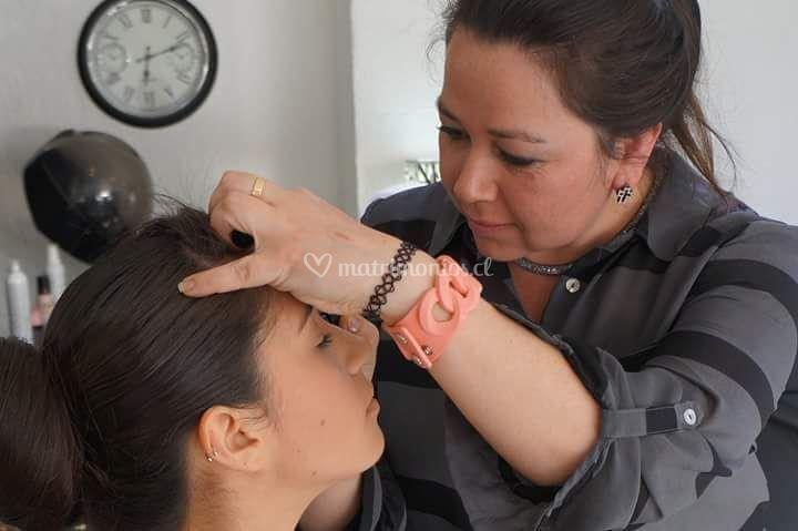 Daniela Sáez Maquilladora