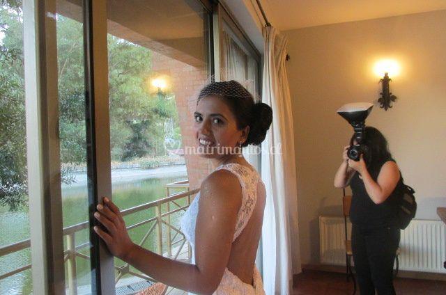 Trenza lateral novia
