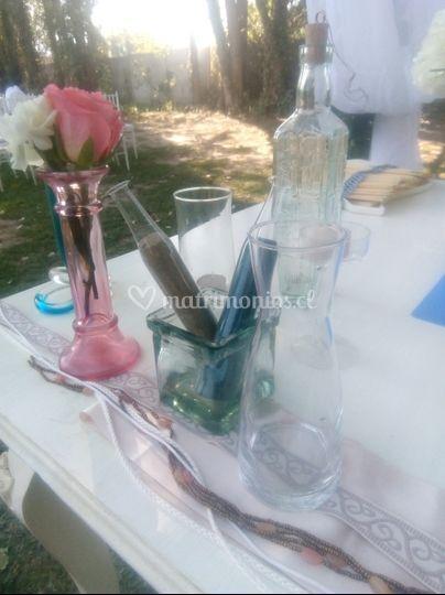 Elementos para la ceremonia