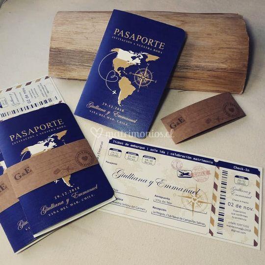 Pasaporte + ticket / PE-13 B3