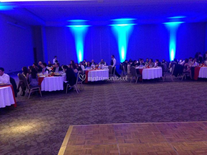 Decoración fiesta ecuatoriana