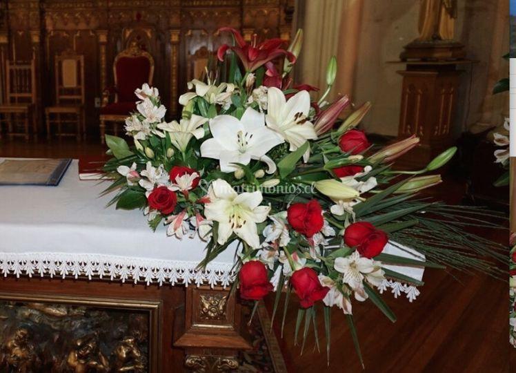 Mesa altar