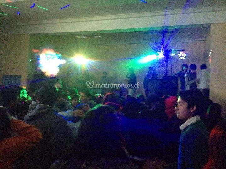 Iluminaxción de fiestas