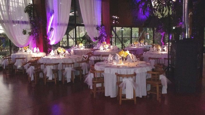 Foto de las mesas