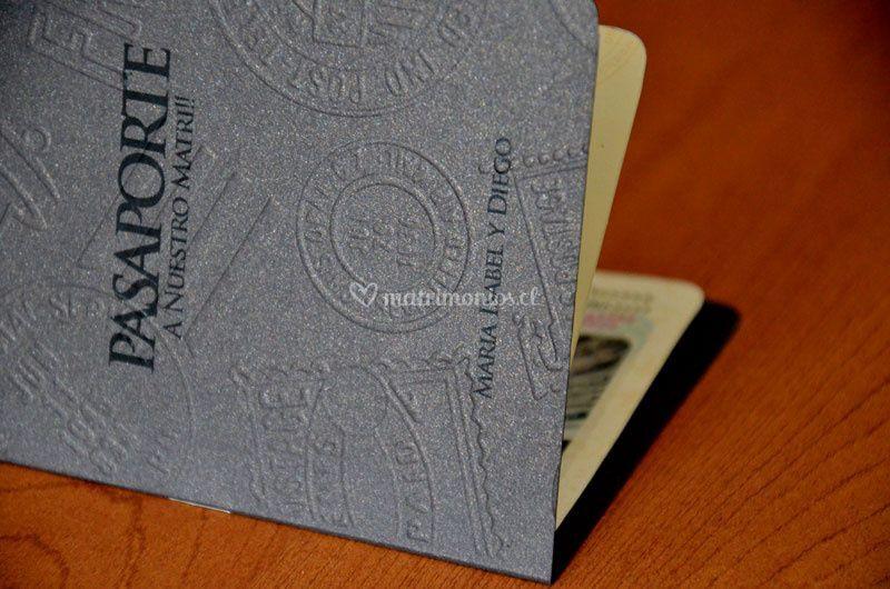 Invitacion pasaporte