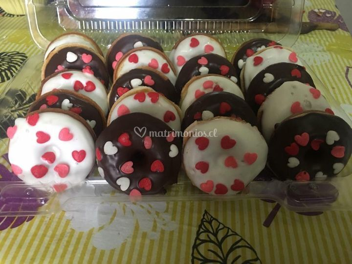 Mini Donuts Romanticas