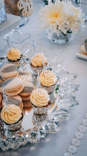 Macarons & minicupcakes