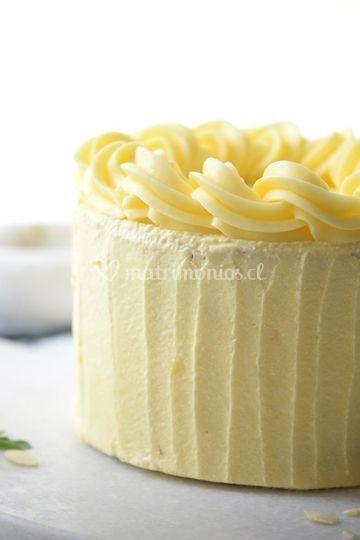 Torta de vanilla francesa