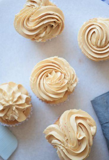 Cupcakes de salted caramel