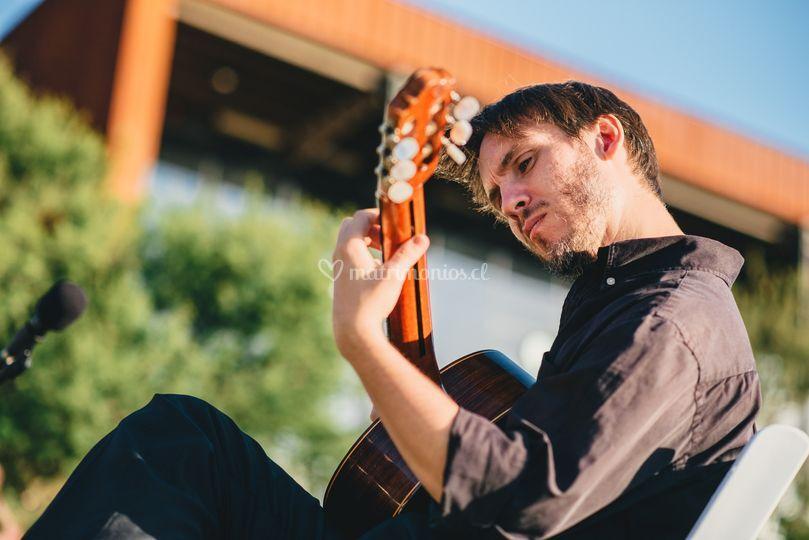 Guitarra matrimonio