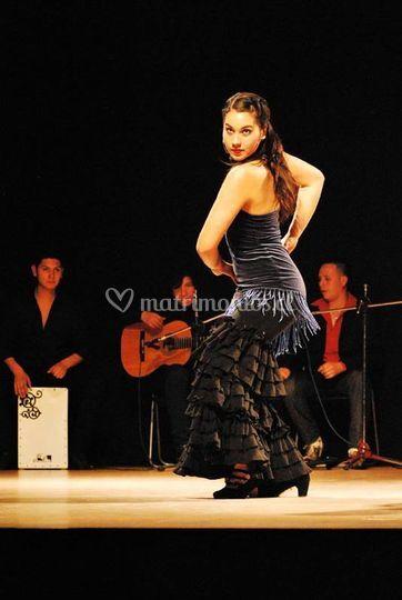 Músicos y baile