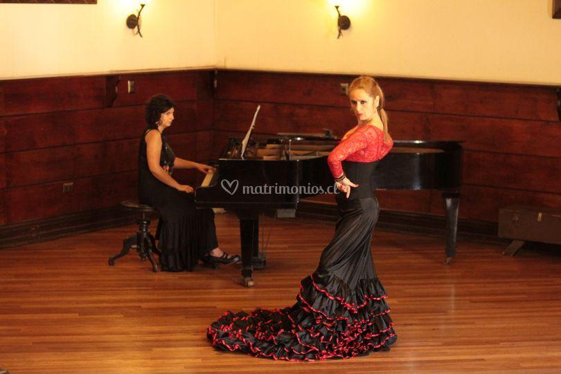 Piano y flamenco