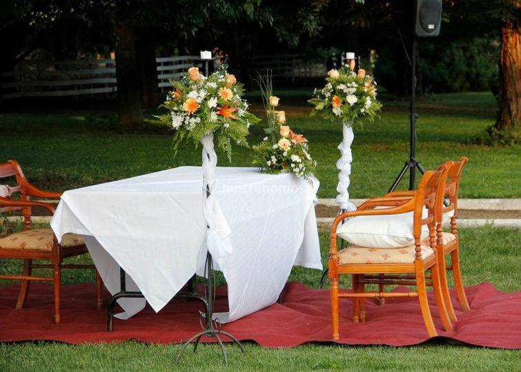 Matrimonio civil aire libre