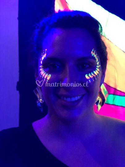 Maquillaje fluor