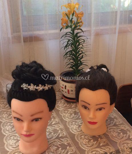 Peinados de gala o matrimonio