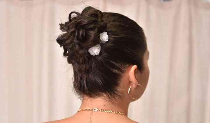 Peinado de gala