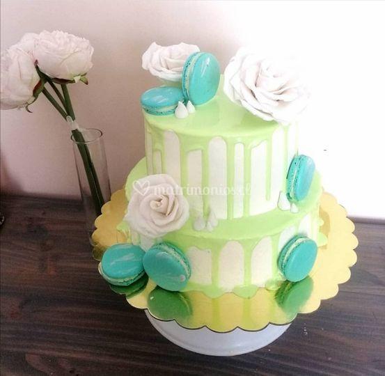 Torta buttercream 2 pisos