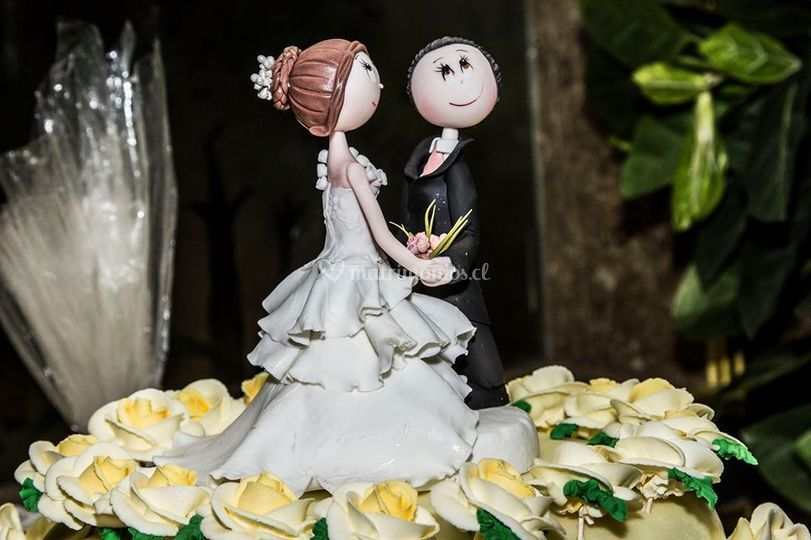 Torta para su matrimoniio
