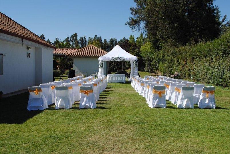 Ambientación ceremonia