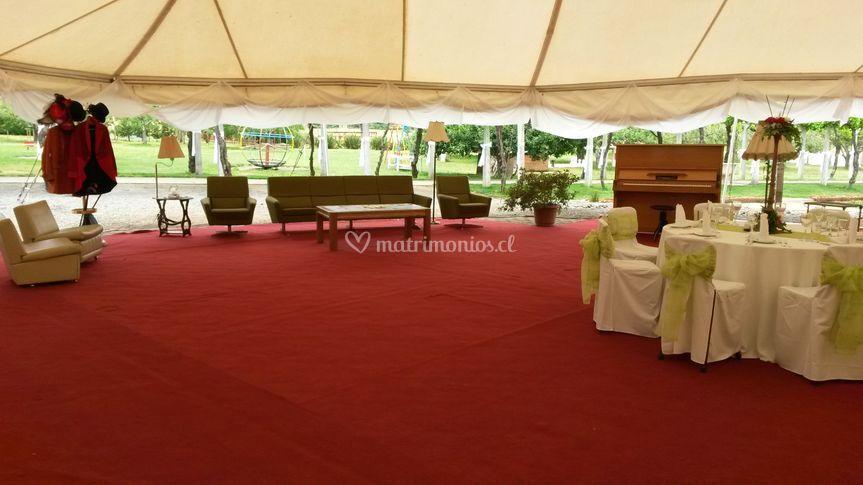 Matrimonios sector descanso