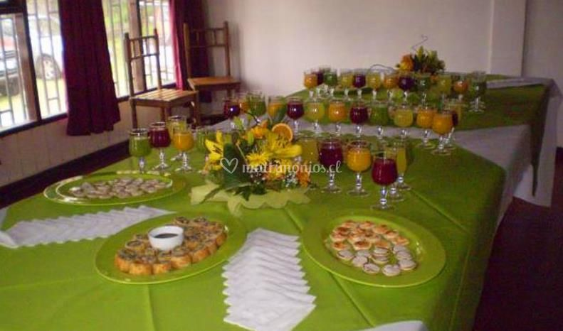 Banquete para matrimonio