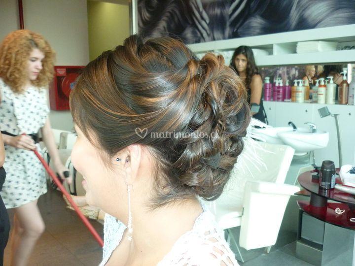 Peinados novias