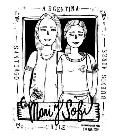 Regalo Mari y Sofi
