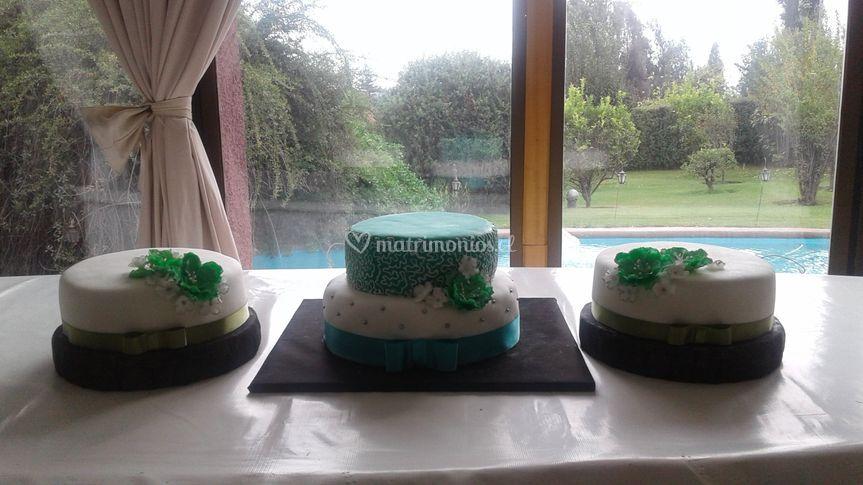 Torta novios tradicional