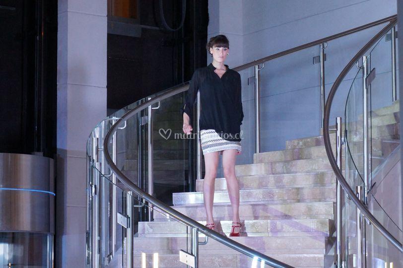 Minifalda con lentejuelas