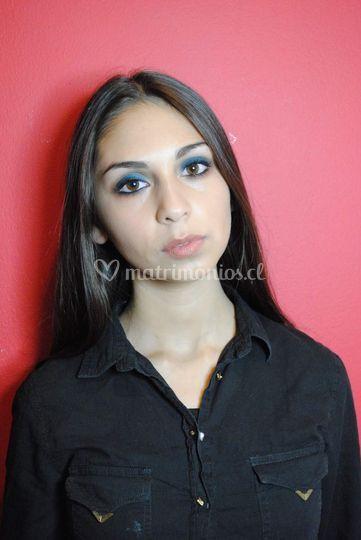 Maquillaje con smokey eyes