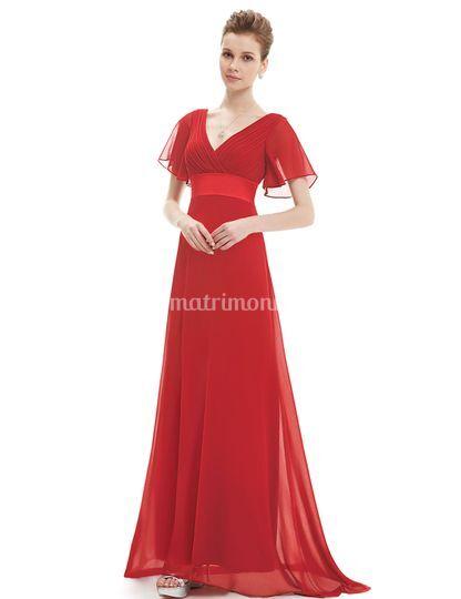 Vestido madrina, tallas y colo