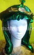 Verde en sombrero