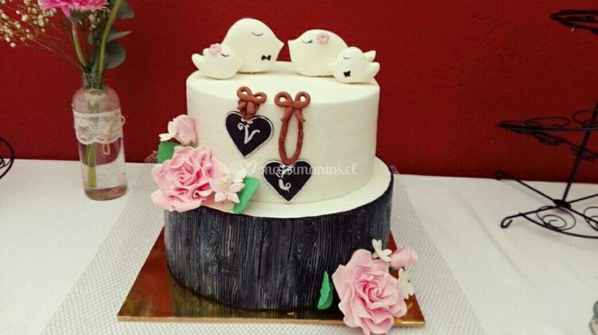 Torta pajaritos rustica