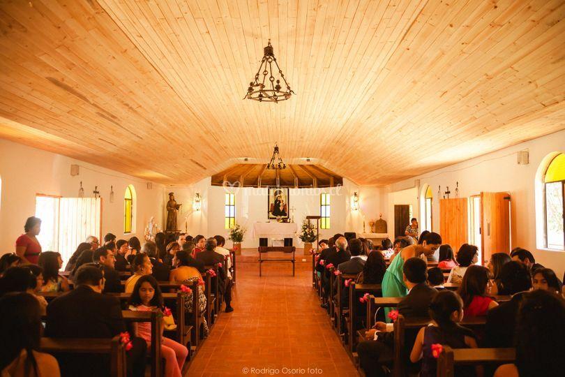 La capilla de Sta Clara