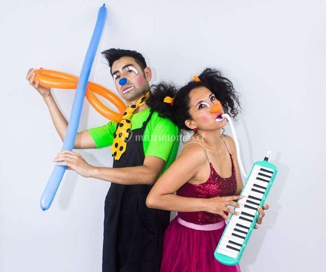 Clowns musicales