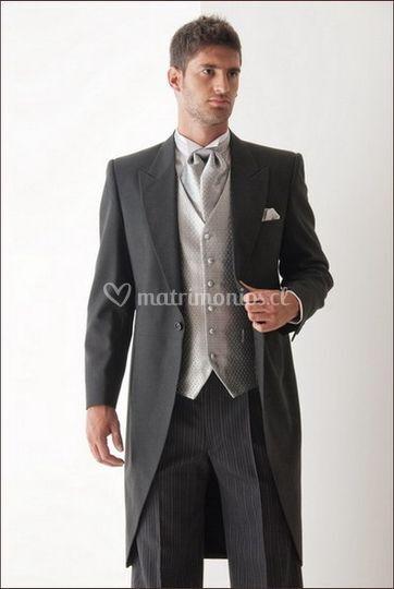 Traje chaquet novio