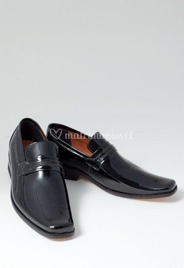 Zapatos cuero nacional