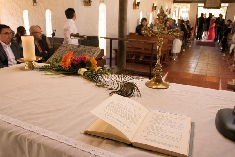 Planificamos bodas religiosas