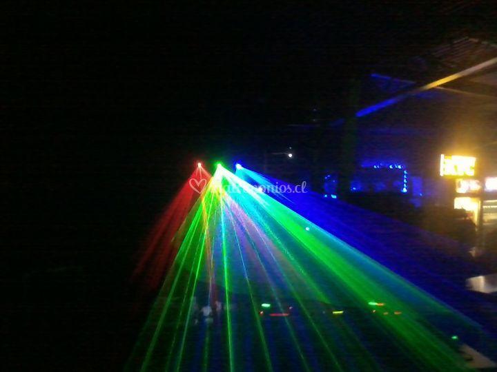 Láser de 3 colores