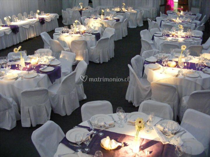 Un hermoso banquete