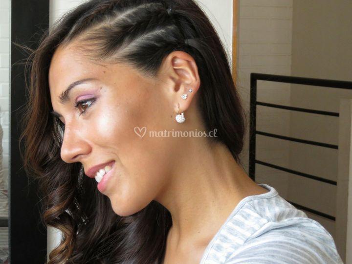 Peinado y maquillaje novias rancagua