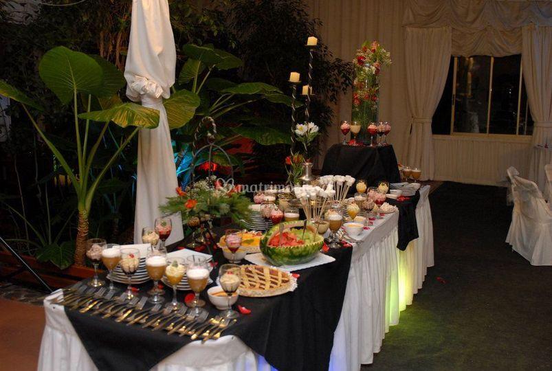 Mesa buffet dulce