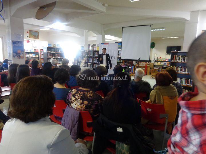 Evento biblioteca regional pmc
