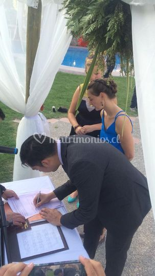 Matrimonio Adrián y Miranda