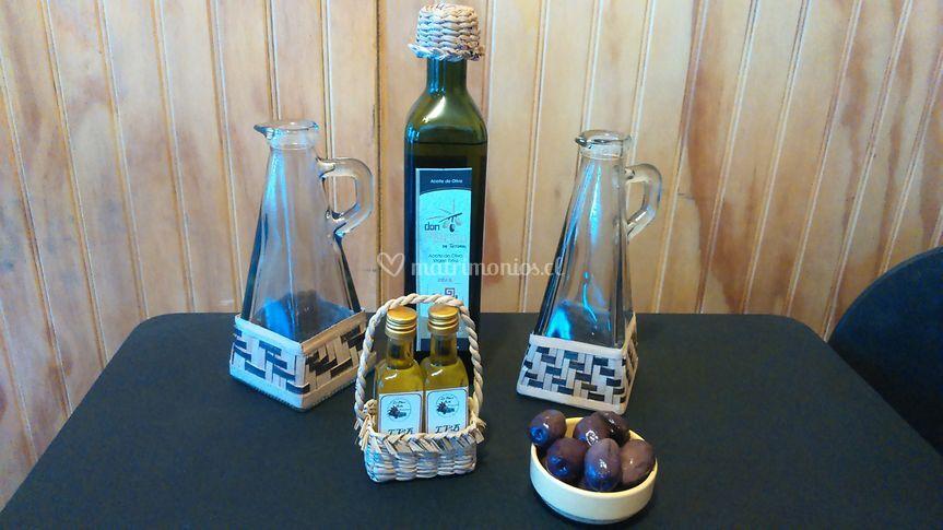Aceites de oliva personalizados