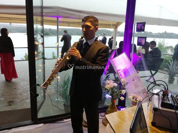 Saxofonista Concepción