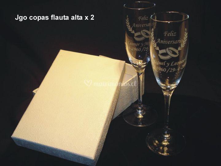 Copas Copas flauta