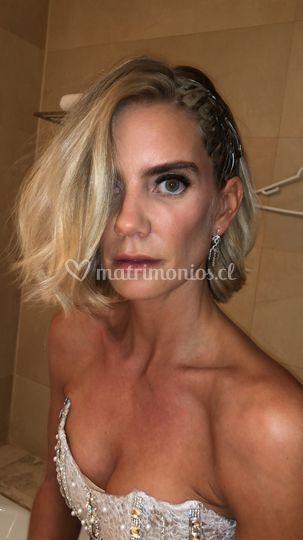 Maquillaje Javiera Acevedo