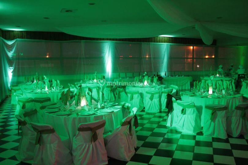 Iluminación de salón