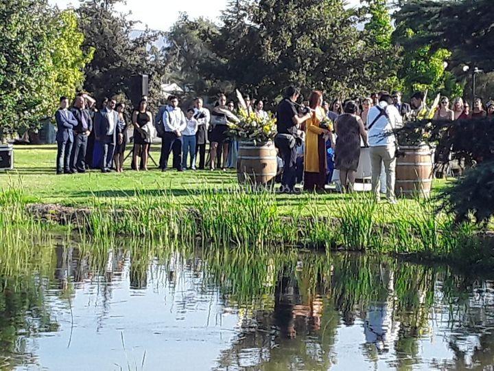 Laguna para ceremonias